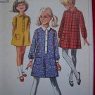 60s Girls Vintage Sewing Pattern Step in Dress 12 1/2 Patterns Sale 7282