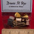 New Dress It Up Buttons A Stitch In Time Set 11 Pieces Sewing Notions