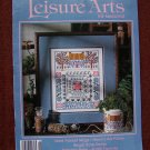 Leisure Arts Craft Magazine June 1993 Cross stitch Knitting Crochet Crafts