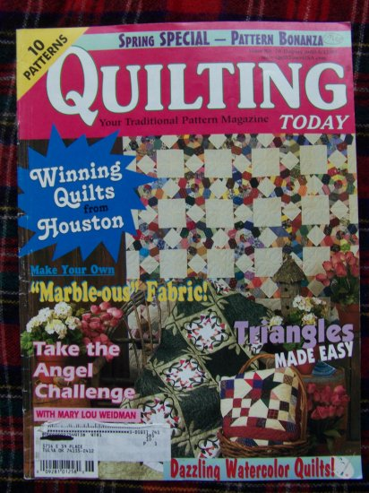 Quilting Today Patterns Back Issue Magazine Baby Quilts May June 2000