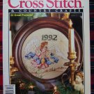 BH&G Cross Stitch & Country Crafts Dec 1992 Pattern Magazine Needlecraft