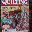 Quilting Today Pattern Magazine 71 - 1999 Quilts Cowboy Boots Double Wedding Poppy Sawtooth
