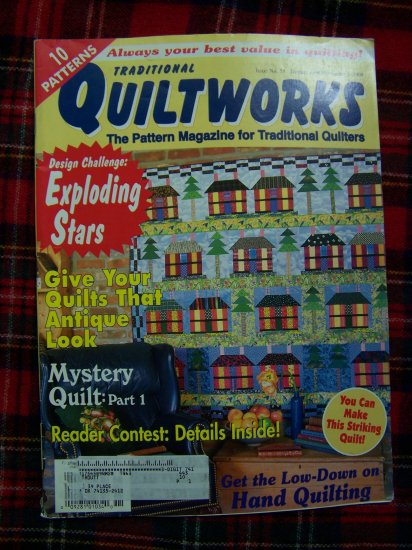 10 Quiltworks Quilt Patterns Magazine #58 November 1998 Back Issue