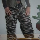 Misses Camouflage Pants Knitting Pattern S M L XL XXL XXXL XXXXL USA 1 Cent S&H
