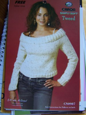 Sexy Off Shoulder Pullover Knitted Sweater Knitting Pattern S M L XL