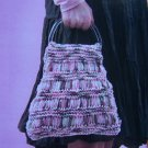 DIY Knitted Hobo Bag Handle Purse Knitting Pattern 1 Cent USA Shipping