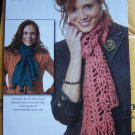 Crochet Pattern Waikiki Fringe Scarf Pattern 1 Cent USA Shipping Specials