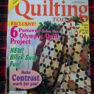 Quilting Today Pattern Magazine Quilt Patterns # 56 Oct 1996