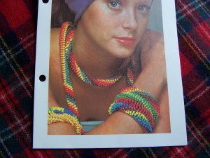 crochet necklace patterns on Etsy, a global handmade and