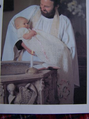 Christening Gown Crochet Pattern PDF 951 by SunsetCrochet on Etsy