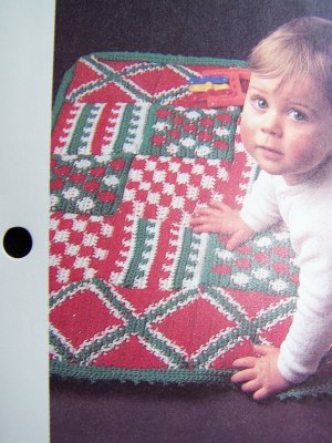 Crochet Pattern Central Baby Afghan : BABY PLAY BLANKET PATTERN Free Baby Patterns