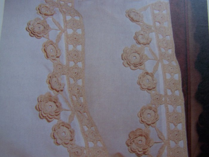 US 1 Cent S&H Specials Vintage Crochet Daisy Edgings and Trims Pattern