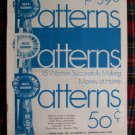 1970 Vintage Blue Ribbon Patterns Book Women Successfully Making Money At Home