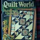 Quilt World Quilting Patterns Magazine Sept 1996 Pattern Book