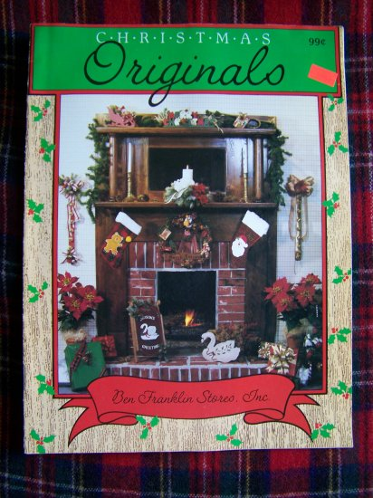 1 C US Shipping Vintage Christmas Originals Ben Franklin Stores Magazine