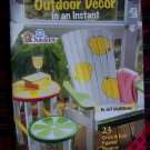 Plaid Outdoor Decor In An Instant Book 23 Quick Easy Painting Yard Crafts Patio Patterns