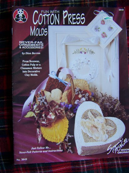 Cotton Press Molds Book 3049 Molded Craft Projects