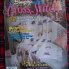 Simply Cross Stitch Pattern Magazine March April 1992 # 4