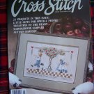 Vintage FOr The Love OF Cross Stitch Patterns Magazine Sept 1989