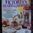 Victorian Hearts & Flowers Back Issue Pattern Idea Magazine Tatting Cross Stitch Jewelry