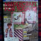 Vintage Needlework For Today 1986 Knitting Crochet Cross Stitch Needlepoint