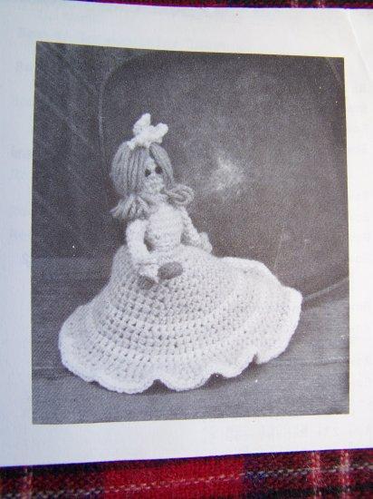 1 Cent USA S&H Vintage Kitchen Doll Potholder Crochet Pattern Annie's Attic 54-2