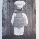 Crochet Pattern Kitchen Accessory Cover Lil' Chef Pan Handle Holder Annie's Attic