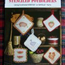 Crochet Stenciled Potholders Pattern Instructions