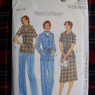 Vintage Sewing Pattern Jacket A Line SKirt Straight Leg Pants 5912