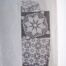 Vintage 1946 Laura Wheeler Crochet Pattern Design 574 Tablecloth Bedspread +