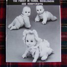 Vintage Mary Maxim Crochet & Knitting Patterns Crawling Baby Doll CLothing 159