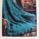 USA 1 Cent S&H Heirloom Crocheted Afghan Pattern Puff Stitch Crochet