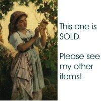 Vintage Hippie Crochet Pattern Circle Purse Round SHoulder Bag USA Shipping 1 Cent