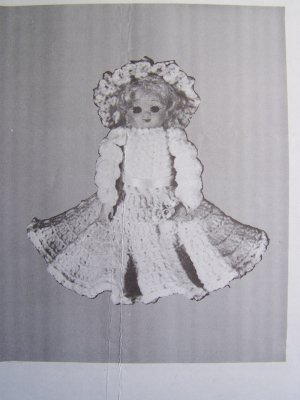 Air Freshener Doll #107J Craft Sewing Pattern