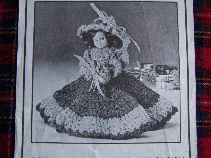 1 Cent USA S&H Vintage Crochet Pattern Deodorizer Debbie Doll