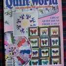 Vintage Quilt World Pattern Magazine May June 1986 Quilting Patterns