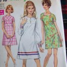 Vintage Sewing Pattern Juniors 9 A Line Collarless Dress Simplicity 7716