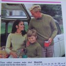 USA 1 Cent S&H Vintage Knitting Patterns Family Cabled Knit Sweaters