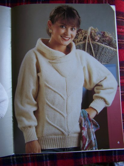 1980's Vintage KNitting Patterns Leisure Arts 678 Fantastic Sweaters