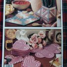 Leisure Arts Plastic Canvas Patterns Book Christmas Ornaments Coasters Photo