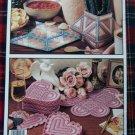 Leisure Arts Plastic Canvas Patterns Book Christmas Ornaments Coasters Photo