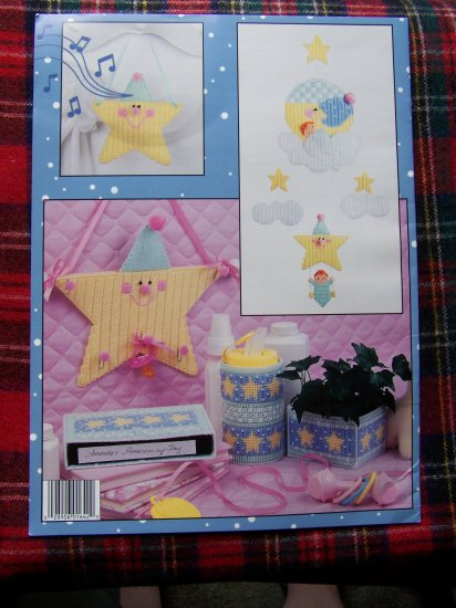 1990's Leisure Arts Leaflet 1642 A Star is Born Baby Nursery Newborn Decorations