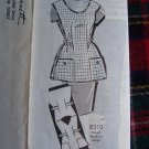 USA 1 Cent S&H Patt O Rama Vintage Apron Sewing Pattern Sue Burnett 8310