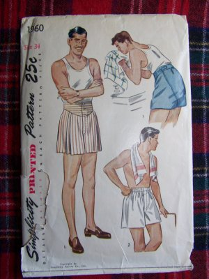 Where can I find a free sewing pattern for boxer shorts? ? - Yahoo