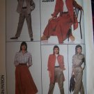 80's Vintage Simplicity 8198 Go Everywhere Wardrobe Sewing Pattern Sz 8 10 12