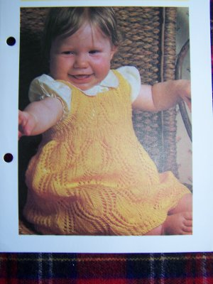Baby Pinafore Dress Pattern With Open Back Easy Sewing