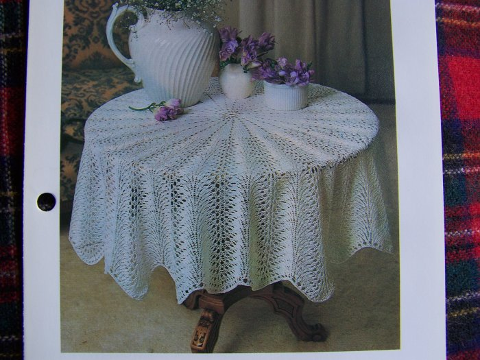 USA 1 Cent S&H Vintage Cotton Thread Tablecloth Knitting Pattern