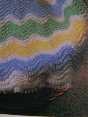 How to Crochet Chevron Blankets | Crafts - Creativebug