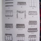I Cent USA S&H McCall's Curtains Shades Header Swag Home Decorating Sewing Pattern 7485