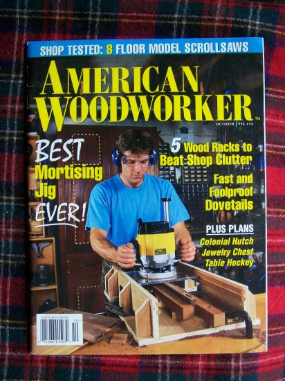 American Woodworker October 1996 # 54 Back Issue Magazine